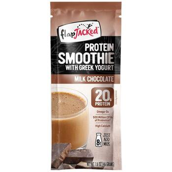Купить FlapJacked Protein Smoothie With Greek Yogurt Milk Chocolate 46 g