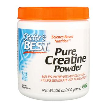 Купить Doctor's Best Pure Creatine Powder 300 g