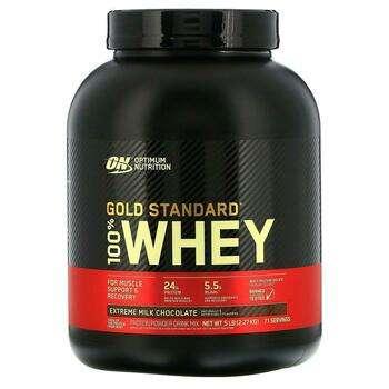 Купить Gold Standard 100 Whey Extreme Milk Chocolate 2.27 kg (Оптимал...