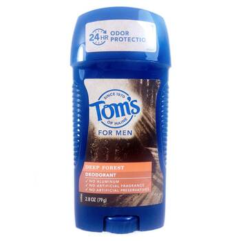 Купить Tom's of Maine Long Lasting Wide Stick Deodorant Men's Deep Fo...