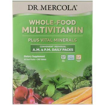 Купить Whole-Food Multivitamin A.M. & P.M. Daily Packs 30 Dual Packs