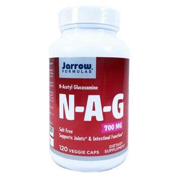 Купить Джароу Формулас N-ацетил глюкозамин 700 мг 120 вегетарианских ...