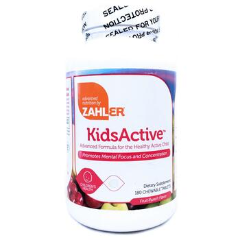 Купить Zahler Kids Active 180 Chewable Tablets