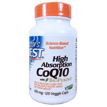 Купить High Absorption CoQ10 with BioPerine 100 mg 120 Veggie Caps