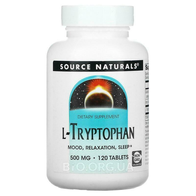 Л-Триптофан 500 мг 120 таблеток фото товара