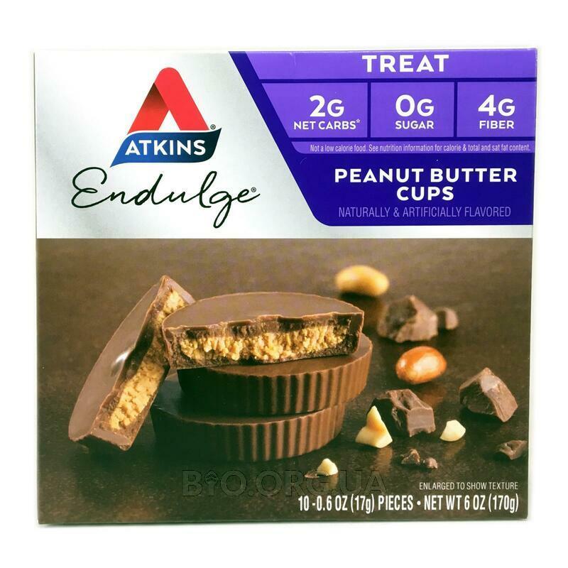 Аткинс печенье с арахисовым маслом 5 пакетиков 34 г каждый фото товара