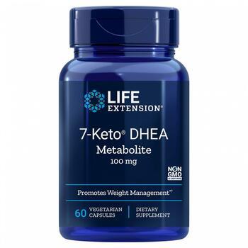 Купить Life Extension 7-Keto DHEA Metabolite 100 mg 60 Vegetarian Cap...