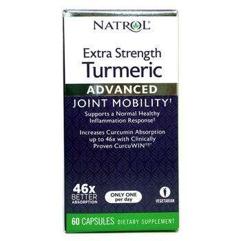 Купить Natrol Extra Strength Turmeric 60 Capsules