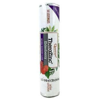 Купить Quantum TheraZinc® Lozenges Elderberry Raspberry 14 Lozenges (...