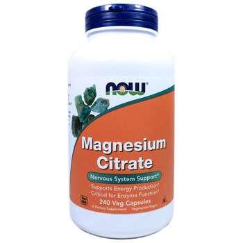 Купить Magnesium Citrate 240 Veg Capsules ( Цитрат магнію 240 рослинн...