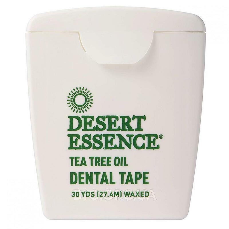 Десерт Ессенс Зубная нить с маслом чайного дерева Вощеная 27.4 м фото товара