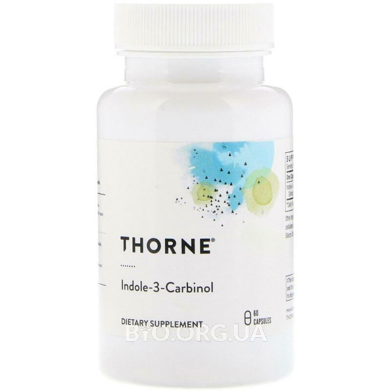 Thorne Research Indole 3 Carbinol 60 Veggie Caps