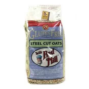 Купить Bob's Red Mill Gluten Free Steel Cut Oats 680 g