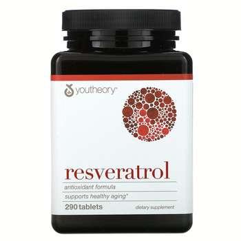 Купить Youtheory Resveratrol 290 Tablets