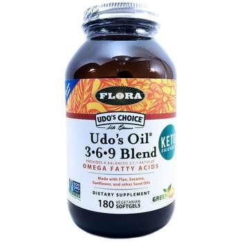 Купить Flora Udo's Oil 3-6-9 Blend 180 Softgels