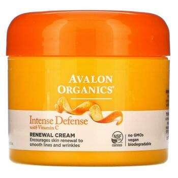 Купить Intense Defense with Vitamin C Renewal Cream 57 g (Авалон Орга...
