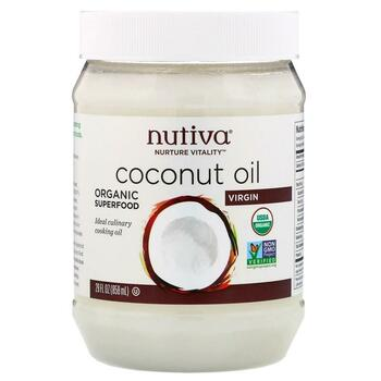 Купить Nutiva Organic Coconut Oil Virgin 858 ml