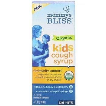 Купить Kids Organic Cough Syrup + Immunity Support 120 ml ( Kids Орга...