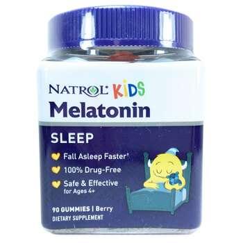 Купить Natrol Kids Melatonin 1 mg Gummies Berry 90 Gummies