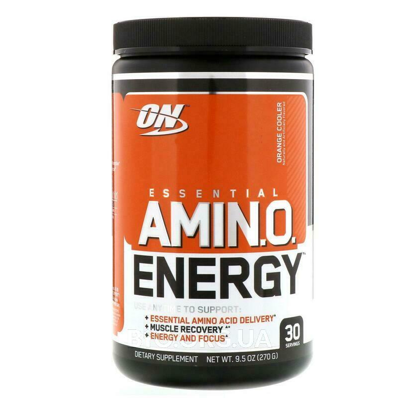 Essential AmiN.O. Energy Orange Cooler 9.5 270 g фото товара
