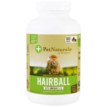 Купить Pet Naturals of Vermont Hairball for Cats 160 Chews 240 g
