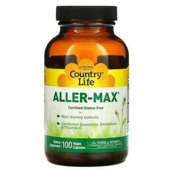 Купить Aller Max 100 Veggie Caps ( Комплекс Кверцетину Бромелайна і В...