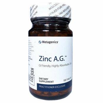 Купить Metagenics Zinc A.G. 20 mg 180 Tablets