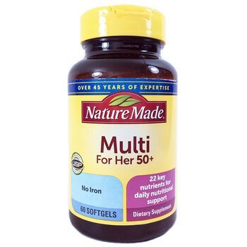 Купить Nature Made Multi for Her 50 60 Softgels