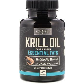 Купить Onnit Krill Oil Essential Fats 60 Softgels