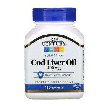 Купить Health Care Norwegian Cod Liver Oil 110 Softgels