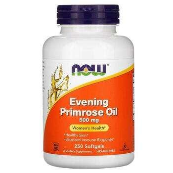 Купить Now Foods Evening Primrose Oil 500 mg 250 Softgels