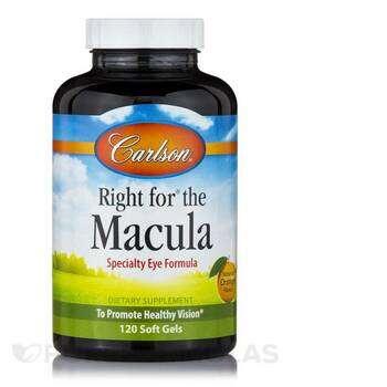 Купить Carlson Right for The Macula 120 Softgels
