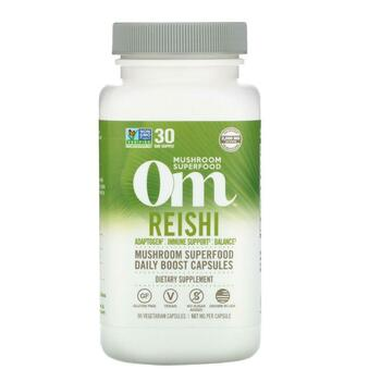 Купить Organic Mushroom Nutrition Reishi 667 mg 90 Vegetarian Capsules