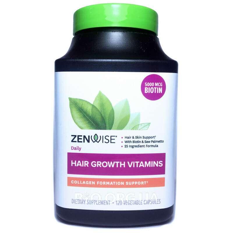 Витамины для роста волос с блокатором ДГТ 120 капсул фото товара