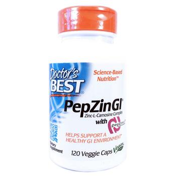 Купить PepZinGI Zinc-L-Carnosine Complex 120 Veggie Caps