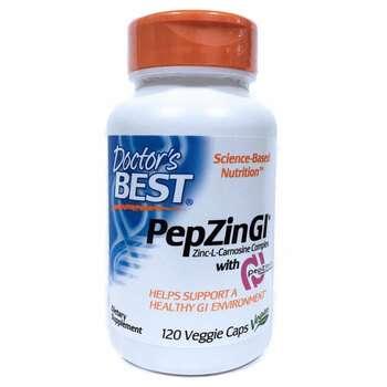 Купить PepZin GI Zinc-L-Carnosine Complex 120 Veggie Caps ( PepZin GI...