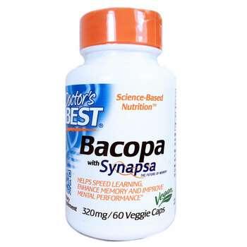 Купить Bacopa With Synapsa 320 mg 60 Veggie Caps