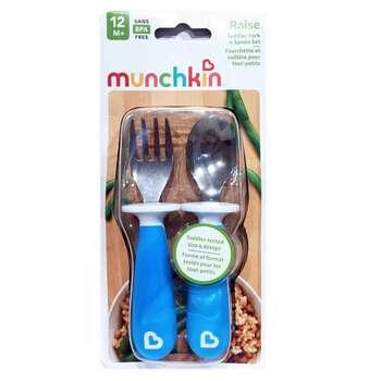 Купить Toddler Fork & Spoon Blue