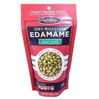 Купить Dry Roasted Edamame Sea Salt 113 g