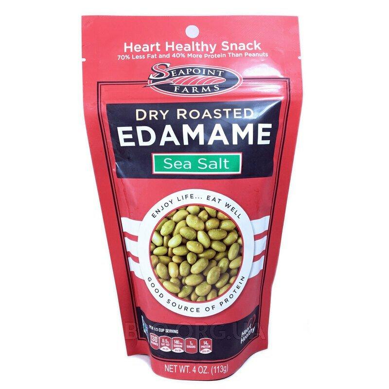 Dry Roasted Edamame Sea Salt 113 g