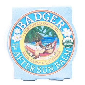 Купить Badger Company Organic After Sun Balm Blue Tansy & Lavender 56 g