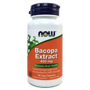 Купить Bacopa 450 mg Extract 90 Veg Capsules