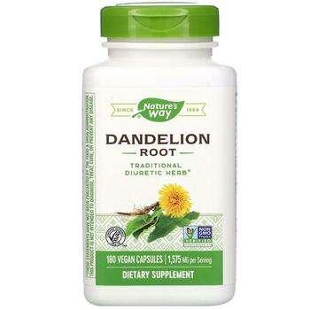 Купить Nature's Way Dandelion Root 525 mg 180 Vegetarian Capsule