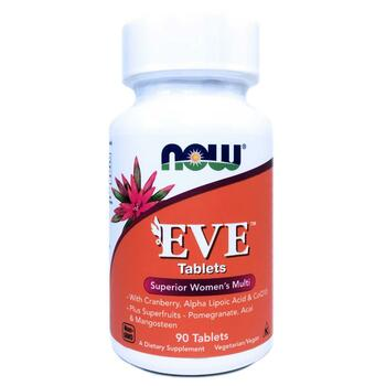 Купить Now Foods Eve Superior Women's Multi 90 Tablets