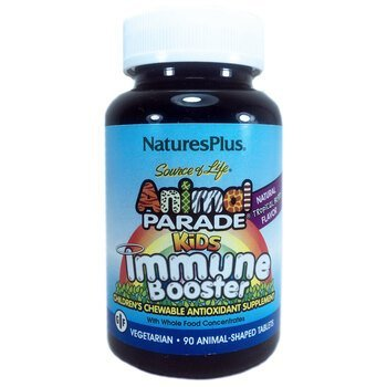 Купить Nature's Plus Animal Parade Kids Immune Booster 90 Tablets