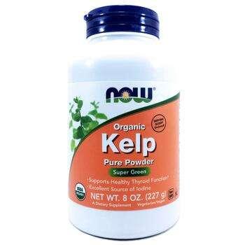 Купить Now Foods Organic Kelp Pure Powder  227 g