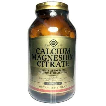 Купить Calcium Magnesium Citrate 250 Tablets ( Цитрат Кальцію і Магні...
