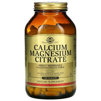 Купить Solgar Calcium Magnesium Citrate 250 Tablets