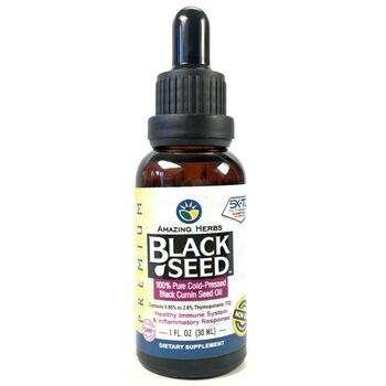 Купить Black Seed 100 Pure Cold Pressed Black Cumin Seed Oil 30 ml (Е...