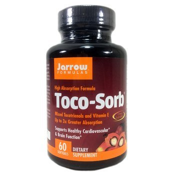 Купить Jarrow Formulas Toco-Sorb Mixed Tocotrienols and Vitamin E 60 ...